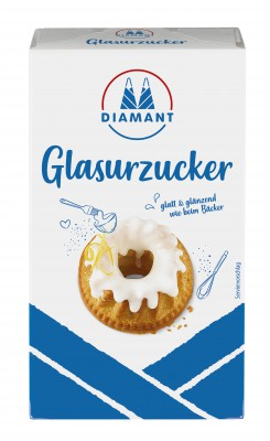 Diamant Glasurzucker